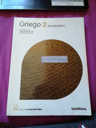 Griego 2 Bachillerato