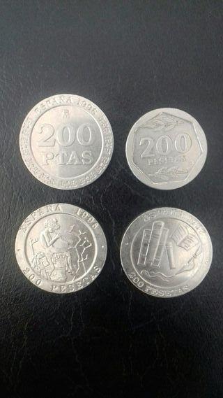 Monedas de 200 pesetas