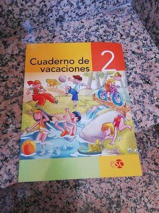 Libro-cuaderno de vacaciones