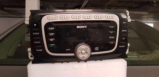 radio sony ford