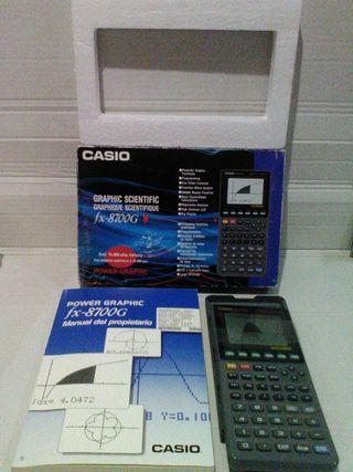 Calculadora grafica cientifica Casio fx-8700g