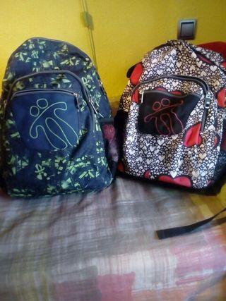 mochilas y libros 5° primaria