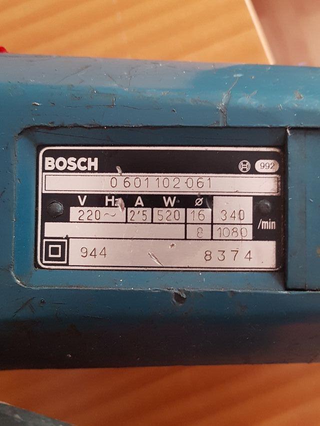 Taladradora Bosch