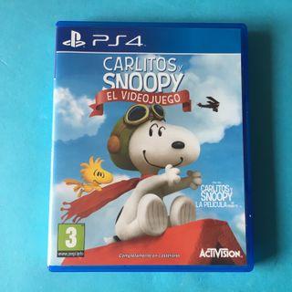 Carlitos y Snoopy PS4