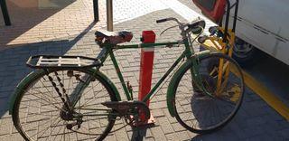 antigua bicicleta