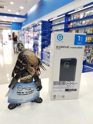 DISCO DURO EXTERNO G-TECHNOLOGY 1TB SSD PRECINTADO