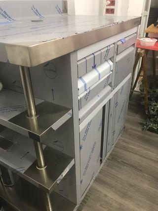Mueble cafetero para barra bar