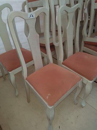 sillas de madera maciza 12 eur