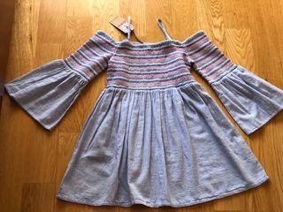 Vestido niña Brotes 10 años