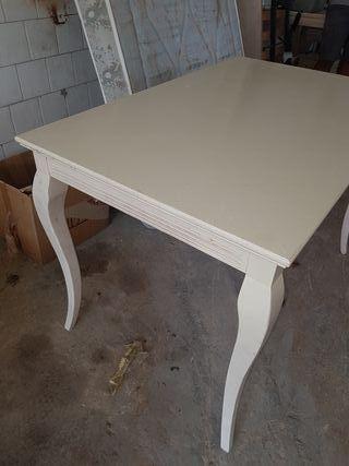 mesas comedor madera maciza
