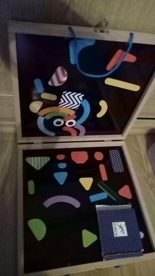 juego pizarra magnetica