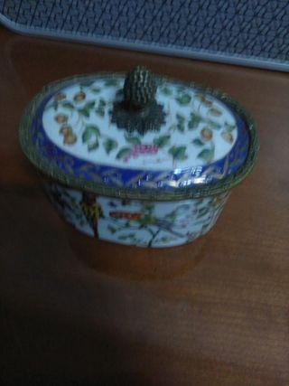 caja de porcelana china