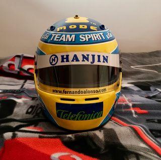 Replica casco Arai gp5 Fernando Alonso( escala 1:1