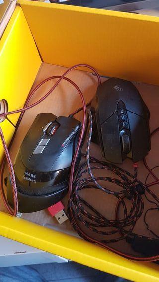 2 ratones gaming