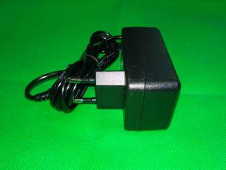 Alimentador transformador cargador fuente cable