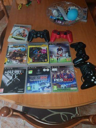 juegos ps3 y mandos