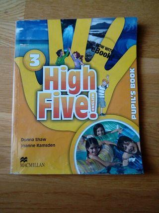 Libro inglés tercero High Five Macmillan