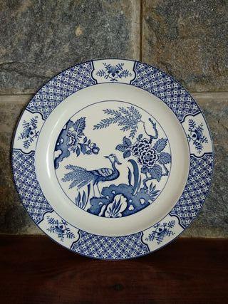 Plato cerámica inglesa