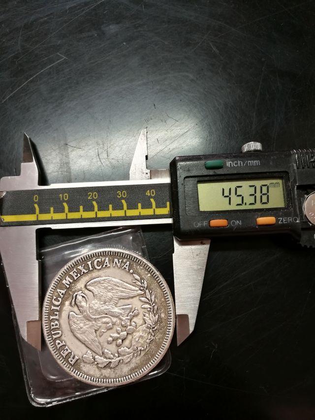 antigua moneda de plata
