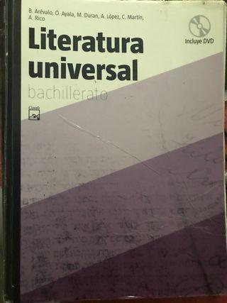 libro de literatura universal bachillerato