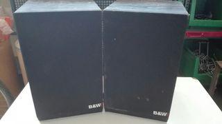 Altavoces B&W clasicos