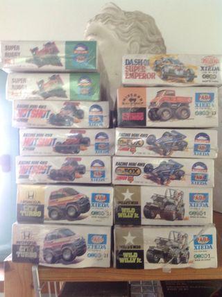Maquetas autos, lote de 13 kits de 7 coches