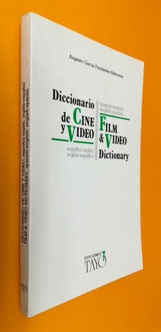 DICCIONARIO DE CINE Y VÍDEO.. Español - Inglés