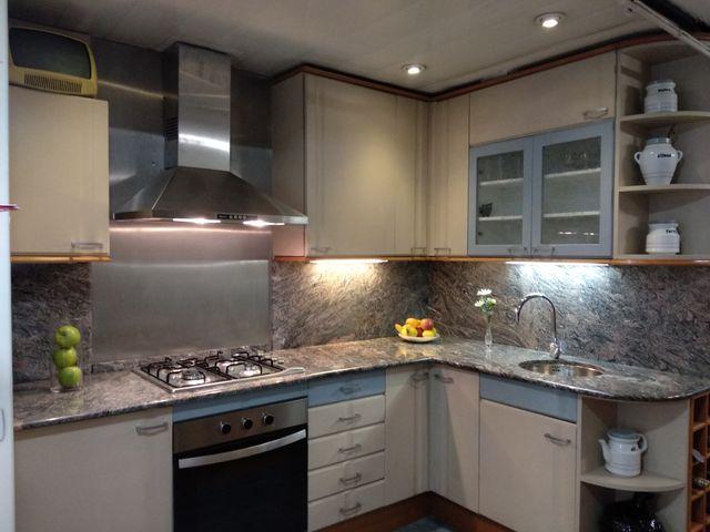 Liquidación mueble cocina y granito de segunda mano por 1.600 € en ...