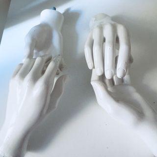 Manos de maniquí