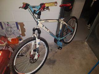 bicicleta bh modificada