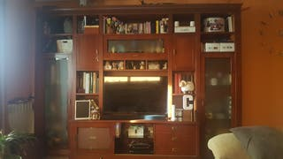 libreria madera maziza