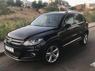 Volkswagen Tiguan 2015 r line Negro Con garantia