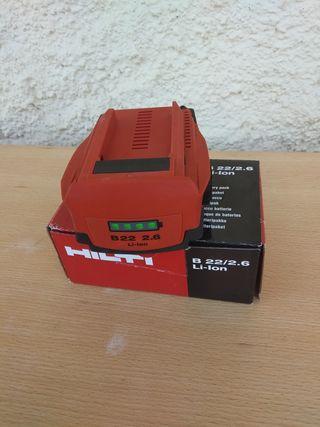 Batería hilti 22V