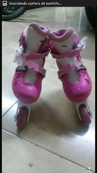Patines de Hello Kitty