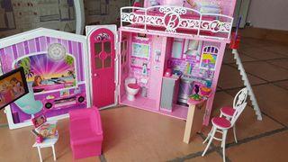casa barbie portátil