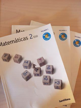 Matemáticas 2 ESO Santillana