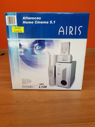 Altavoces Home Cinema 5.1.