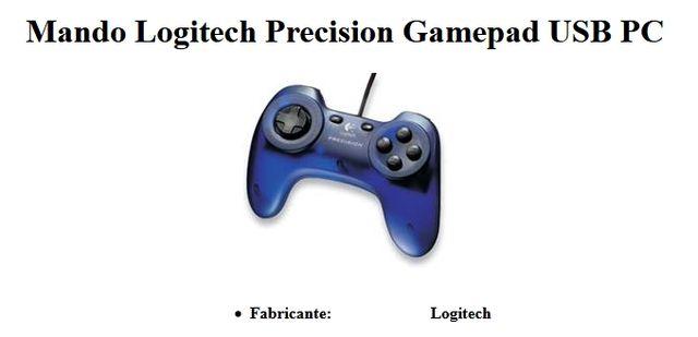 Mando Logitech Precision Gamepad