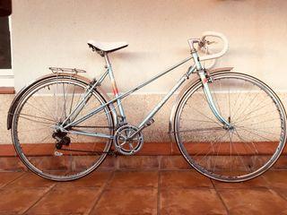Bicicleta vintage Peugeot carretera