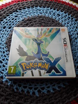 Pokémon X para Nintendo 3DS.