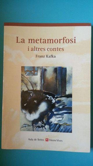 libro la Metamorfosi y altres contes