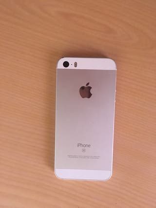 Iphone Se plateado