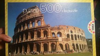 Puzzle Coliseo de Roma 500 piezas