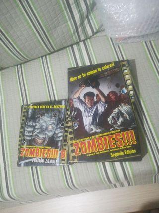 juego de mesa Zombies + expansion