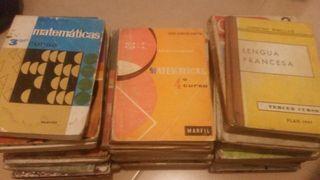 vendo 34 libros antiguos