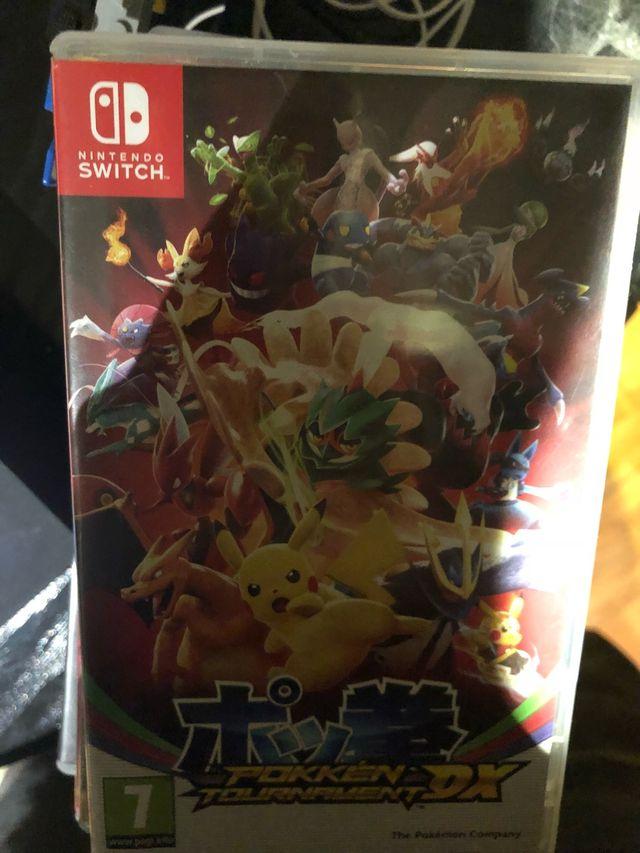 Juego Nintendo Switch Pokken Tournament Dx De Segunda Mano Por 40