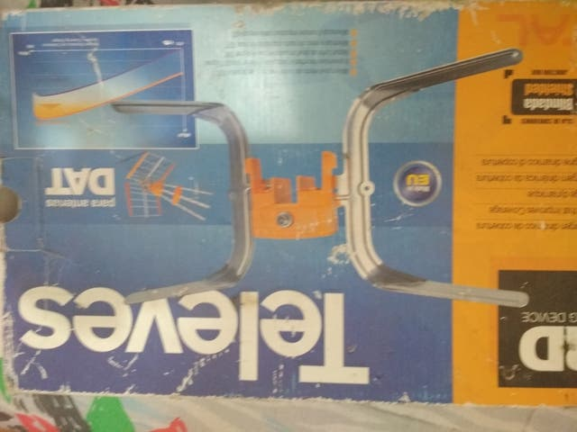antena caravana portátil televes