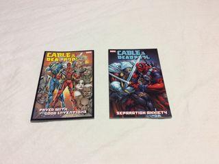 Cómics Marvel Cable & Masacre Deadpool USA