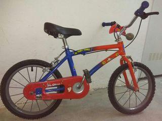 bicicleta para niño 3-5 años.