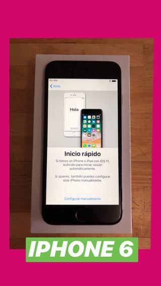 IPhone 6 /16Gb -NUEVO-cero rasguños y rozaduras